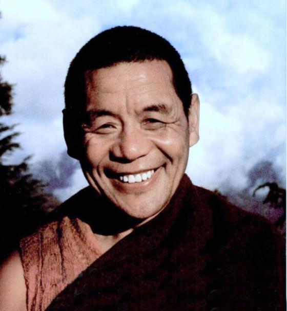 Geshe Lobsang Gyatso in the early 1990s